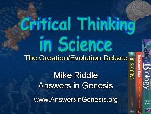 critical thinking in science class